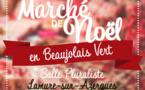 Marché de Noël en Beaujolais Vert