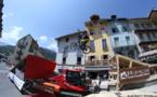 Gravity Gates : descente urbaine de VTT au cœur de Briançon