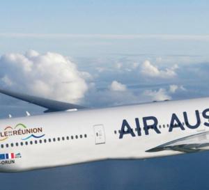 Air Austral monte à bord du Train des Outre-mer