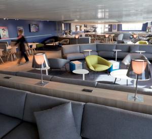 Ouverture du nouveau salon au hub Air France du Terminal 2G