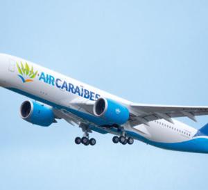 Vol inaugural de l'A350 d'Air Caraïbes vers les Antilles