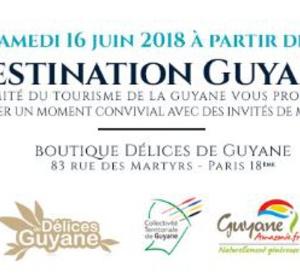 Destination Guyane à Paris