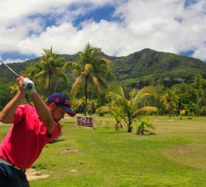 Le golf en deux versions aux Seychelles