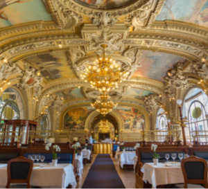 Le Train Bleu sublime le Buffet de Gare