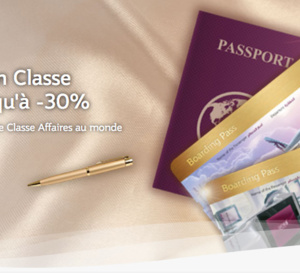 "Offre ""Premium Companion"" de Qatar Airways"