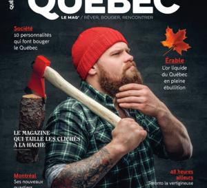 Québec Le Mag : la revue des amoureux du Québec fait peau neuve !