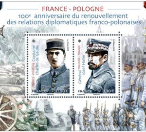 100e anniversaire du renouvellement des relations diplomatiques franco-polonaises