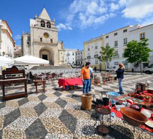 Le BHV Marais aux couleurs du Portugal