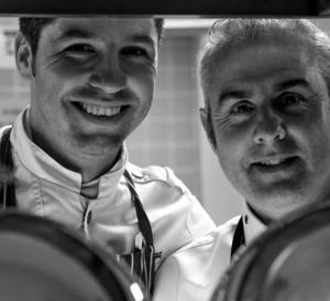 Fabien Raux, un étoilé au duo de chefs, avec Sébastien Bontour du Vichy Célestins