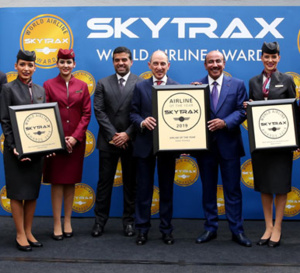 Qatar Airways remporte quatre prix lors des World Airline Awards Skytrax 2019