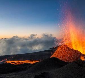 Déjà la quatrième éruption de l'année à La Réunion !