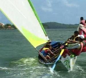 Martinique : initiation à la yole (Vidéo)
