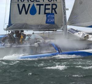 Race For Water : un bateau pour préserver l'eau de la planète