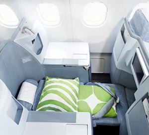 Nouvelles offres Finnair en Classe Affaires vers l'Asie