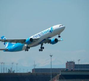 Vol d'essai du premier Airbus de la flotte French blue