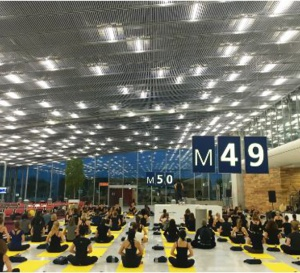 ParisYogAéroport, pour se détendre avant l'envol