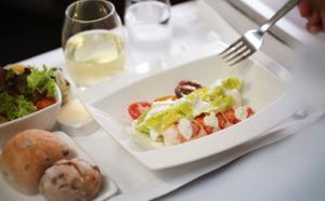 Haute gastronomie sur les vols Cathay Pacific