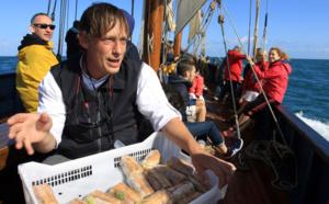 En mer avec un chef corsaire