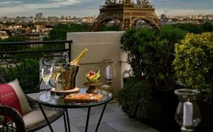 Le Shangri-La Hotel - Paris dévoile son Bar à ciel ouvert by Krug