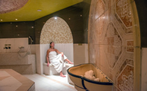 Hammam cabine Grand Spa Thermal de Brides-les-Bains @ E. Dudan
