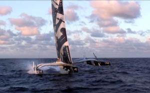 Les bateaux volants de la Route du Rhum