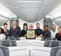 Air Canada meilleur transporteur aérien en Amérique du Nord aux World Airline Awards Skytrax