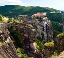 Les monastères perchés des Météores en Théssalie - © Office de tourisme de Grèce