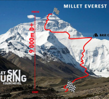 Courchevel camp de base de la Millet Everest 2021