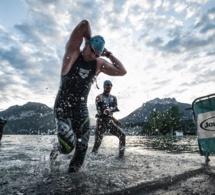Départ rafraîchissant dans les eaux du lac - © Clément-Hudry