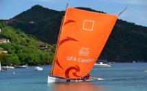 La yole embarcation typique en bois de l'île de la Martinique @David Raynal